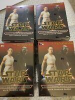 Star Wars The Rise Of Skywalker 4 Blaster Box Lot