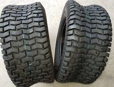 2 - 16X6.50-8 4 Ply Deestone 265 Turf Lawn Mower Tires PAIR DS7031 FREE 16x6.5-8