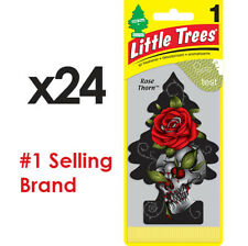 Little Trees Air Freshener Rose Thorn X 24 - Car Truck Taxi Uber Home Office