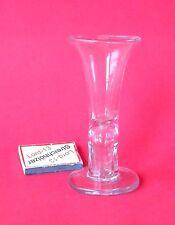 ALT Zimmermannglas Kutscherglas Zimmermann Kutscher Glas Schnapsglas Biedermeier