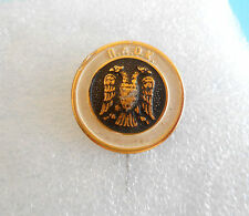 PAOK FC ( Thessaloniki , Salonika ) Greece football soccer club large pin badge