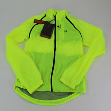 Trek / Bontrager Men's Convertable Windshell Jacket Bright Yellow Size S