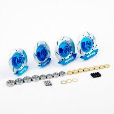 Alloy Wheel Rim Brake Disc Kit Blue For HSP HPI RC 1:10 On-Road Racing Car Parts