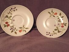 """Noritake Progression Berries N Such bread and butter plates 6&1/4"""" (2 Plates)"""