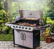 Char-BroilPerformance Stainless 6 Burner Propane Gas Grill with 1 Side
