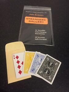 Closeup Card Magic Trick Strangers Gallery By John Bannon