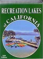 RECREATION LAKES OF CALIFORNIA 16th Edition 460 Lakes