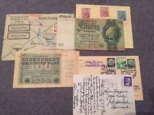 More details for ww 2 postcard,envelopes,money lublin,prag