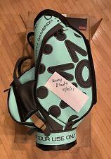 Scotty Cameron Tiffany Tour Staff Bag - Tiffany Blue - Circle T FTUO - NEW!
