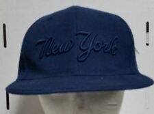 NY FLAT CAP HAT ,NAVY BLUE FITTED HIP HOP HAT FREE SHIPPING.