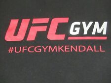 UFC GYM KENDALL FL TRAIN DIFFERENT DOUBLE SIDED - BLACK SMALL T-SHIRT- A383