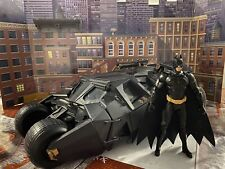 Batman Inicia electrónica Batmobile Tumbler Dark Knight Mattel 1:18 Custom