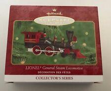 2000 Hallmark DieCast General Steam Locomotive Lionel Train 5 Ornament Collector