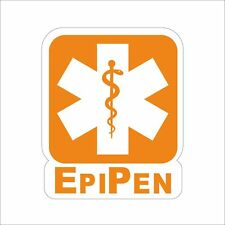 EPI PEN Commercial Office Vehicl Funny Danger Motorcycle Hard Hat Sticker Decal