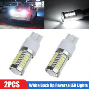 2pcs Car Auto 6000K Super White Back Up Reverse LED Lights Bulb Car Accessories