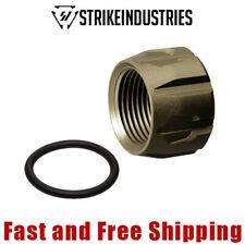 Strike Industries 9mm Pistol Barrel Thread Protector 1/2-28 TPI Flat Dark Earth