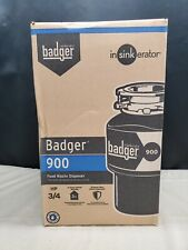 NEW, InSinkErator Badger 900 3/4 HP Continuous Feed Garbage Disposal