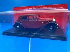 1/24 1/24eme Collection Citroën N°17 TRACTION 7A voiture miniature Hachette