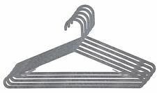 Home Basics Plastic Hangers, (Pack of 10), Grey Granite - Ph47646