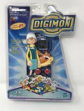 "Rare Digimon Game ""Digital Monsters"" Tiger Electronics - T.K. & Patamon B136"