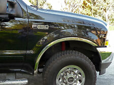 Ford F-250/F-350 Super Duty 1999-2007 TFP Polished Stainless Fender Trim Molding