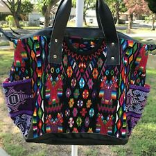 BNWT Nena & Co One Of A Kind Convertible Day Bag Black Leather CDB