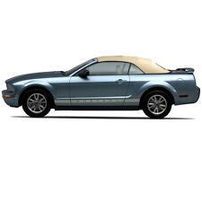 Ford Mustang 05-13 Convertible Soft Top & Defroster glass window CAMEL Sailcloth