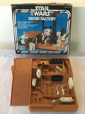 Vintage 1979 Star Wars Droid Factory w/ Box & (15) Parts by Kenner