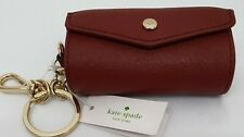 BNWT KATE SPADE LIPSTICK TRAINCARED HOLDER WITH MIRROR & KEYRING