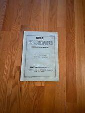 Choplifter Video Arcade Game Instruction Manual, Sega 1985