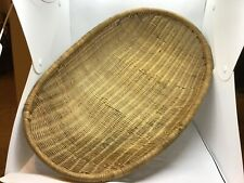 Lot# 1845. Antique Nw Coast 21.5� Long Winnowing Tray