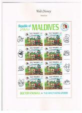 Malediven Mi.nr. 1159 im Kleinbogen,Walt Disney,postfrisch!
