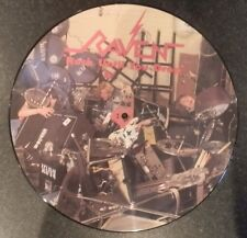 RAVEN Rock until you drop Neat Records 1981 First Press Picture Disc UK Press