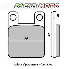 225100080 RMS pastiglie freno POSTERIORE DERBI GPR 125 / NUDE Radial Caliper 05