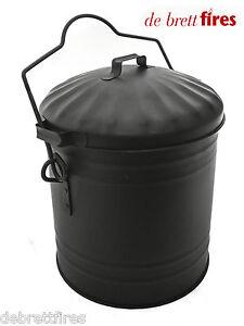 Devielle Dusty Bin Bucket Carrier, Coal Fire Stove  Ash Tidy - AS73