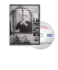 1950s Etiquette Emily Post Courtesy Manners Dining 20 Films on 2 DVDs A103-04