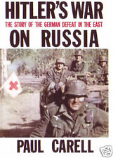HITLER'S WAR ON RUSSIA  HITLER MOVES EAST PAUL CARELL