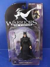 "WARRIORS OF VIRTUE ""EVIL SEXY BARBAROCIOUS"" FIGURE 6""IN"