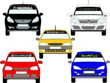 SUNSTRIP any vehicle vauxhall vw corsa astra saxo focus ford cars & vans