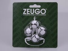 Set di 4 palline Zeugo misura standard europei 2012 SUBBUTEO palle palloni balls