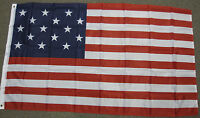 3X5 15 STAR USA FLAG SPANGLED BANNER AMERICAN US F002