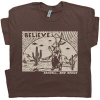 Roswell Jackalope T Shirt UFO Graphic Tee Men Womens New Mexico Area 51 Aliens
