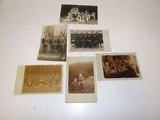 6 Postkarten Soldaten WK1 nicht gelaufen Fotos Bilder Uniformen K4