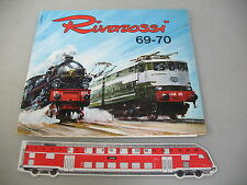 af600-0, 5 #Rivarossi H0 Catalogue 69-70 (1969/1970) with Price Lists 29 D+34 D