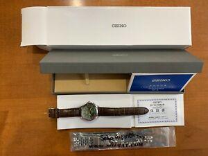 Seiko Alpinist SARB017 Automatic Mens Watch Complete plus extras Exc+
