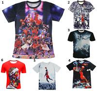 New Michael Jordan Men Women T-Shirt Basketball Number 23 Size S M L  Legend 5XL