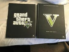 GRAND THEFT AUTO V LIMITED EDITION STRATEGY GUIDE WITH LITHOGRAPH