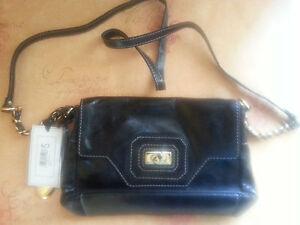 Tula Black Leather Bag 6485A