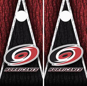 Carolina Hurricanes Cornhole Wrap Skin Board NHL Sports Vinyl Decal GC277