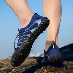 Mens Water Shoes Outdoor Climbing Swim Non-slip Lacing  Aqua Beach Wet Wetsuit